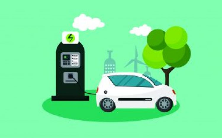 FREE ELECTRIC VEHICLE CHARGING POINT