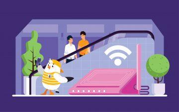 Wifi miễn phí AEON MALL Hải Phòng Lê Chân