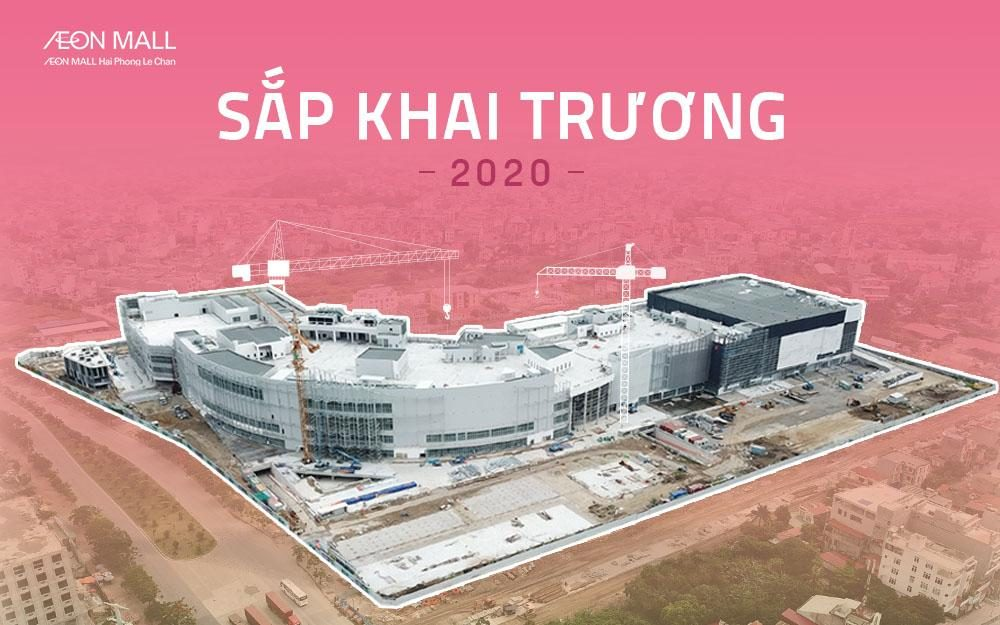 Update the latest photos about the upcoming AEON MALL Hai Phong Le Chan project