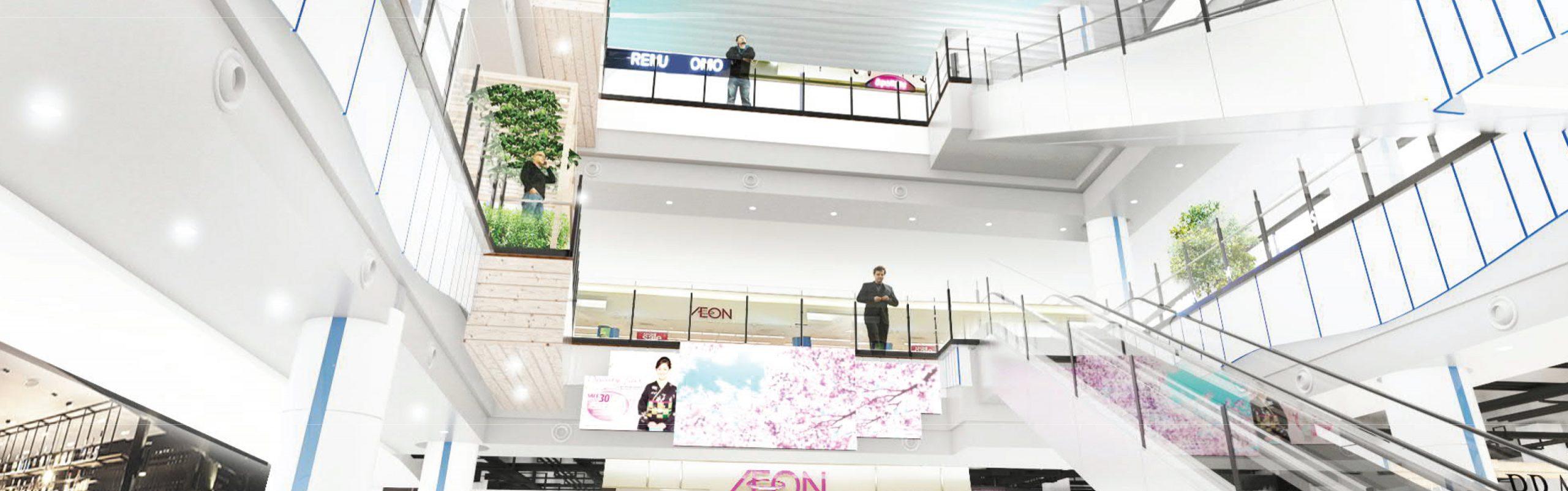 Cho thuê màn hình điện tử, màn hình LED quảng cáo AEON MALL Hải Phòng Lê Chân