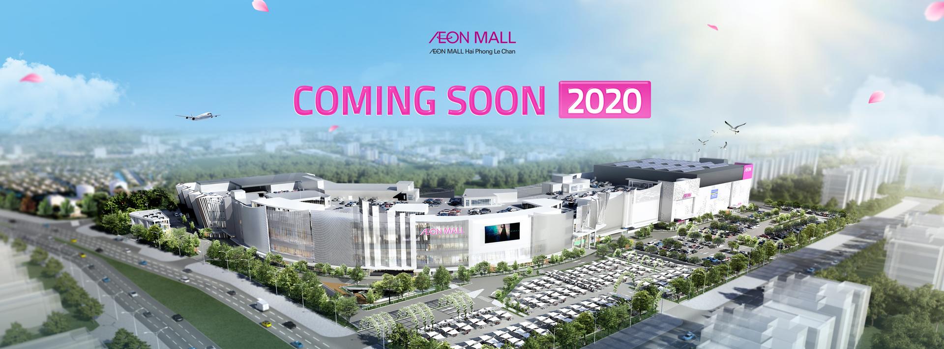 AEON MALL Hải Phòng Lê Chân khai trương năm 2020