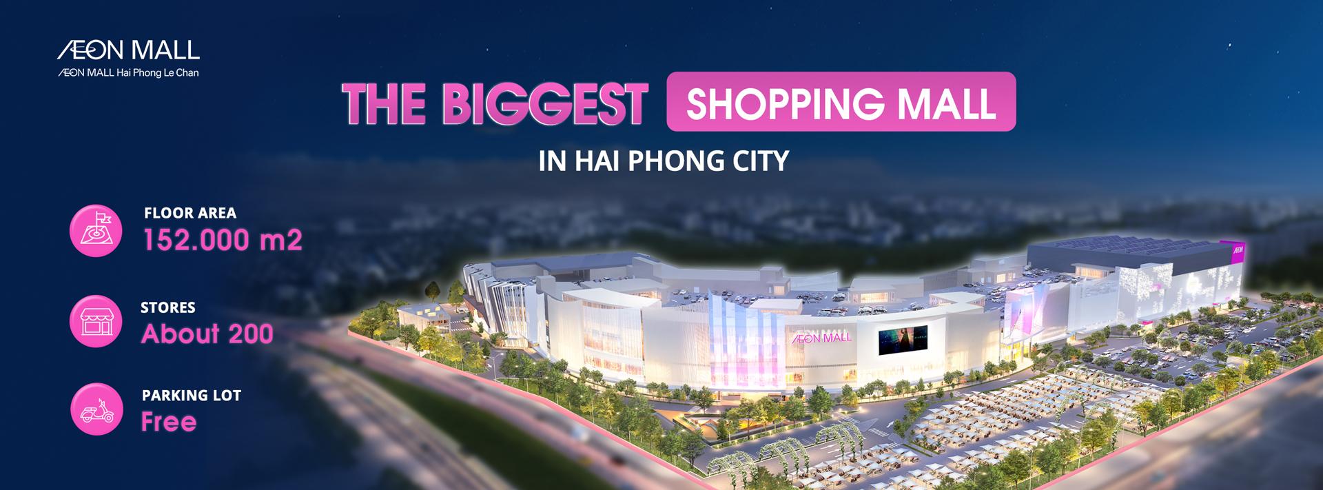 AEON MALL Hai Phong Le Chan - The biggest shopping mall in Hai Phong 2020