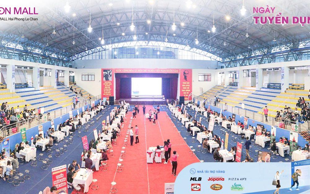 Hơn 1000 ứng viên tham gia Ngày Tuyển Dụng AEON MALL Hải Phòng Lê Chân