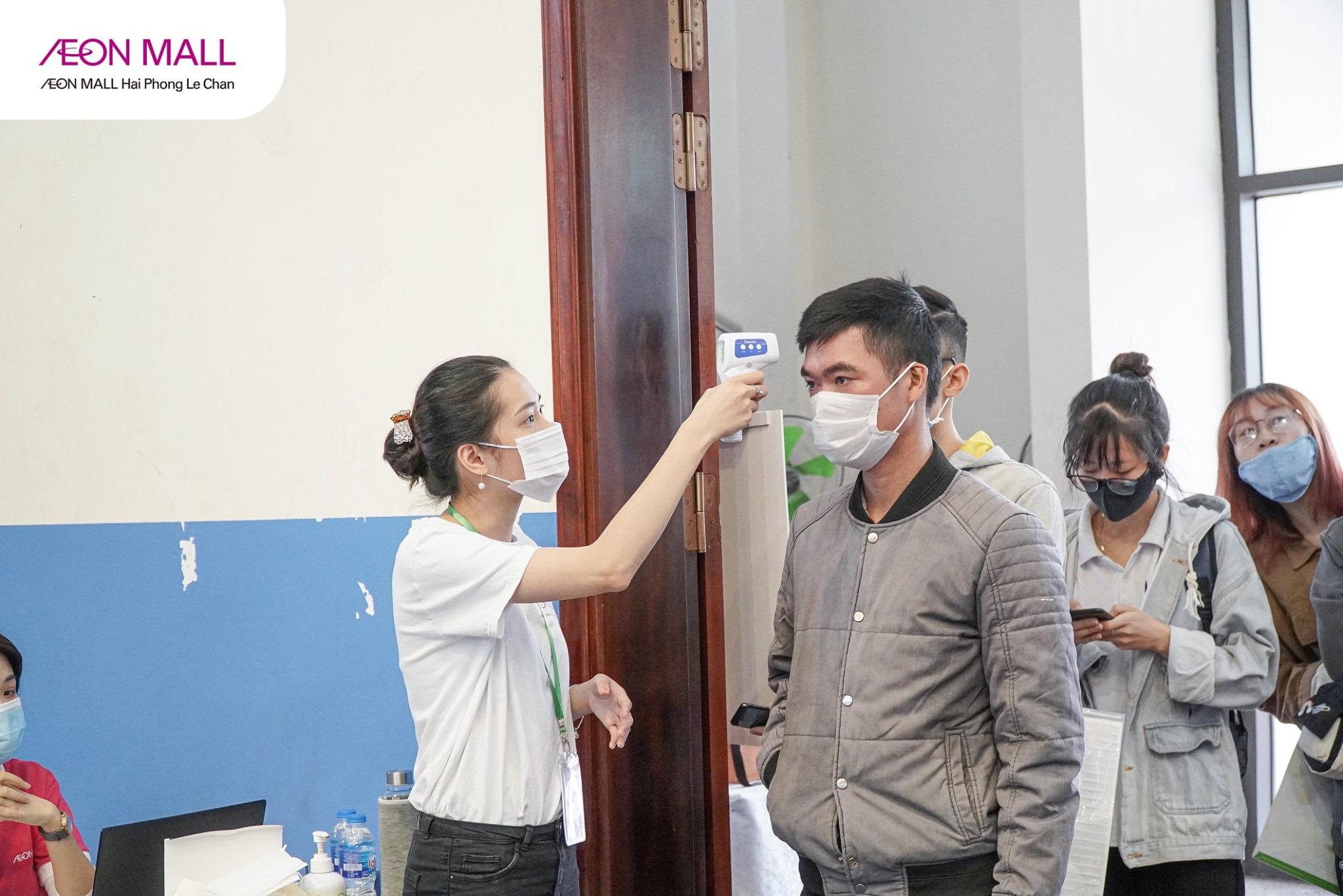 AEON MALL Hải Phòng Lê Chân tuyển dụng 3