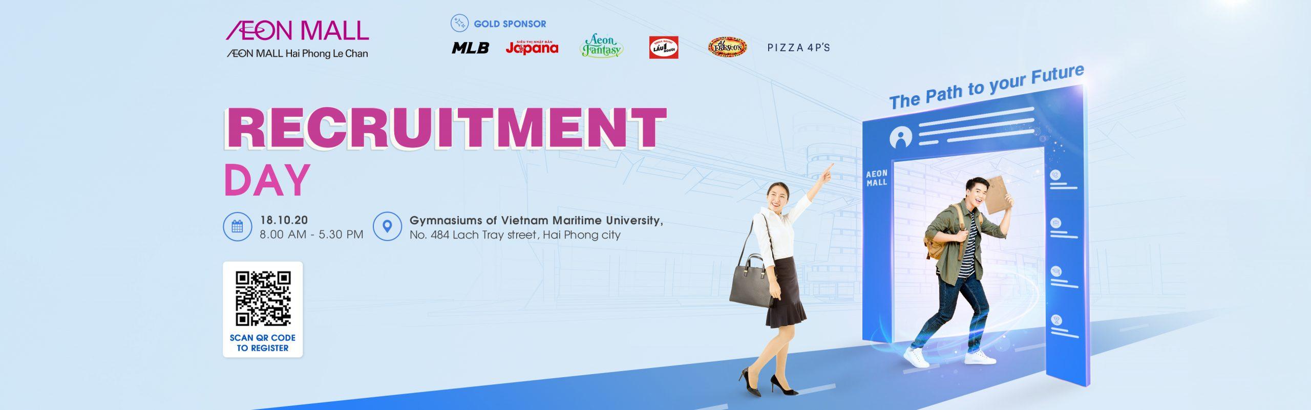 Recruitment Day AEON MALL Hai Phong Le Chan