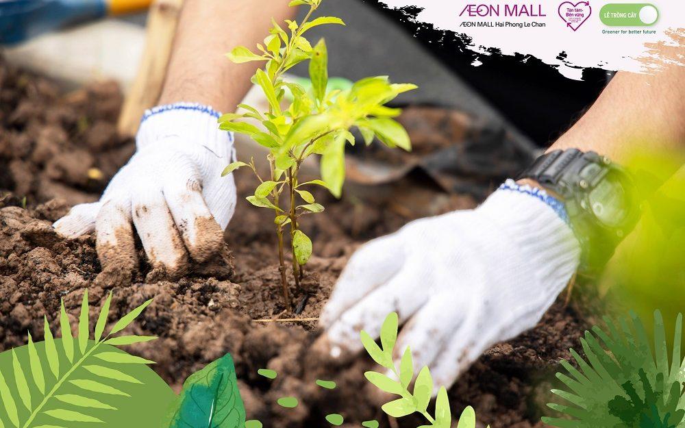 """Những ấn tượng xanh tại Lễ trồng cây """"Cánh rừng Quê hương AEON"""""""