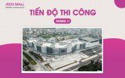 AEON MALL Hải Phòng Lê Chân cập nhật tiến độ thi công tháng 11