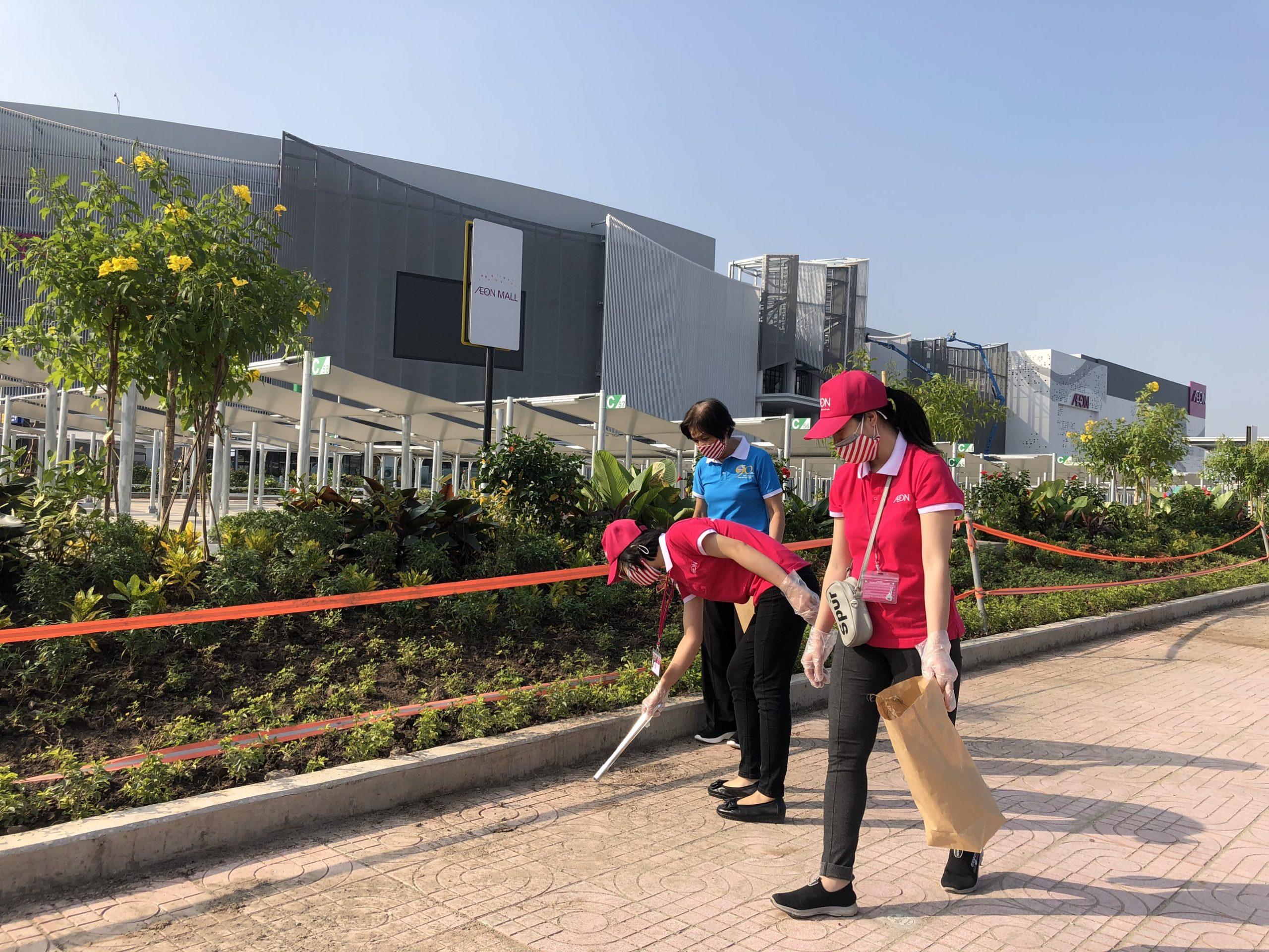 Cleaning Day AEON MALL Hải Phòng Lê Chân 2