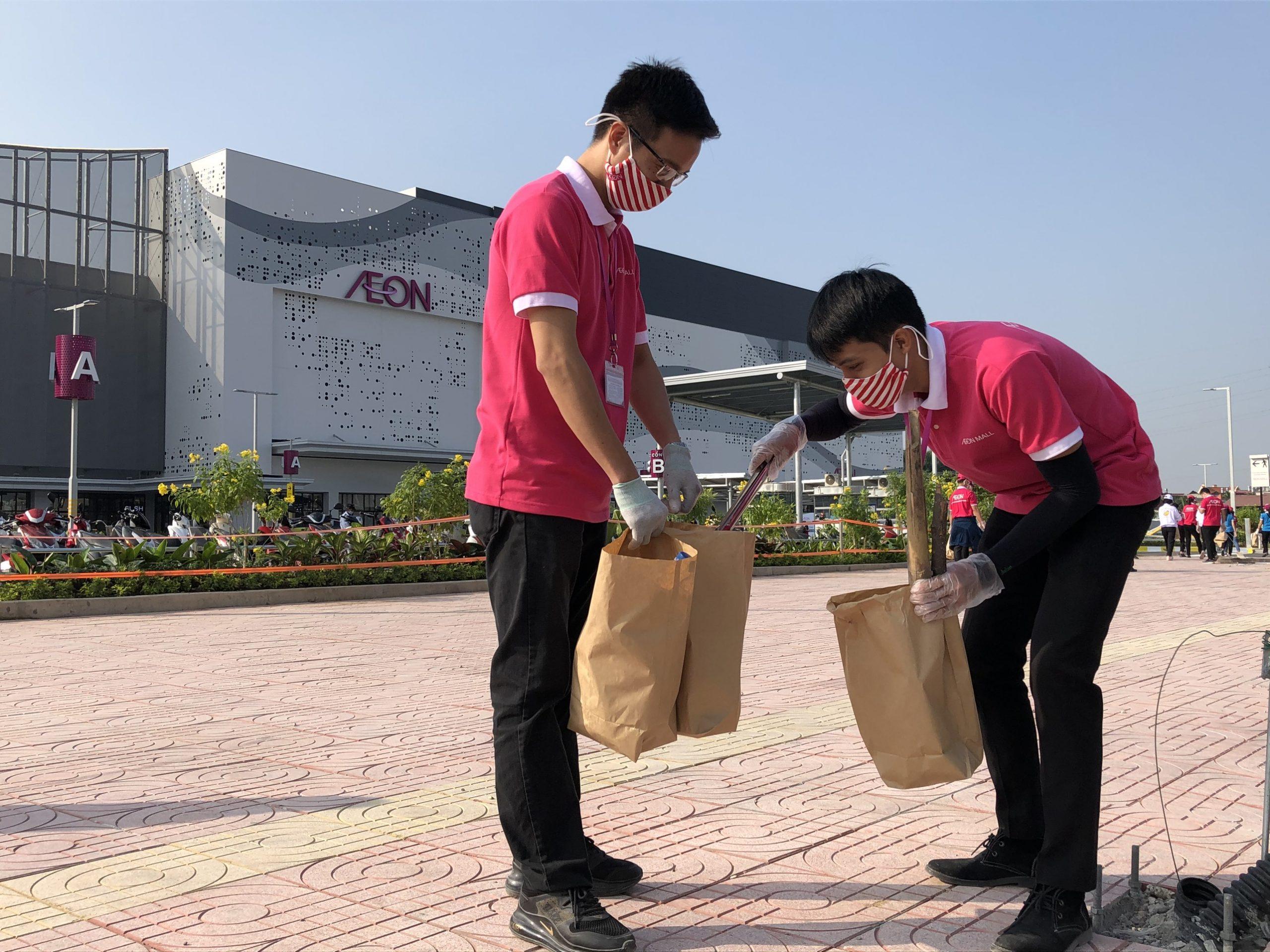 Cleaning Day AEON MALL Hải Phòng Lê Chân