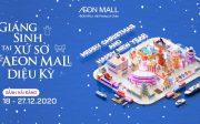 Giáng sinh AEON MALL Hải Phòng Lê Chân