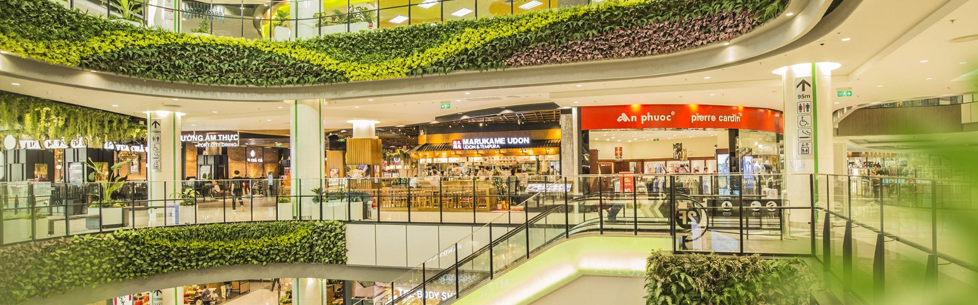 Thuê cửa hàng AEON MALL Hải Phòng Lê Chân