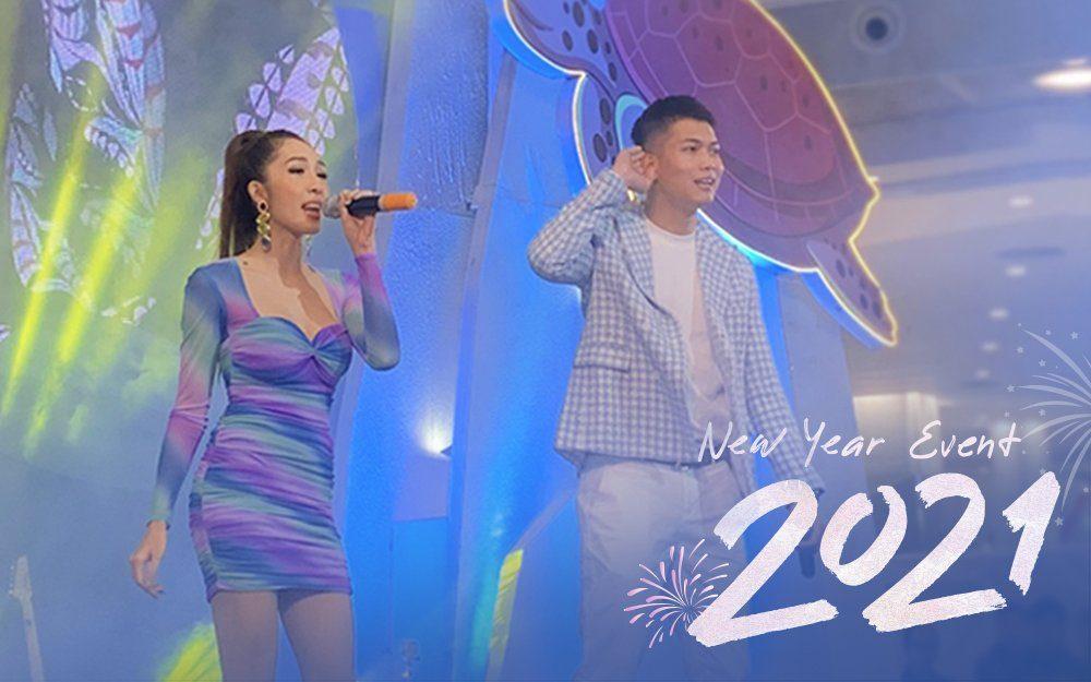 Bùng nổ cảm xúc tại đêm nhạc Chào năm mới AEON MALL Hải Phòng Lê Chân