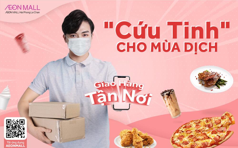 Mua hàng online AEON MALL Hải Phòng Lê Chân