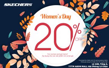 WOMEN'S DAY – DISCOUNT 20%