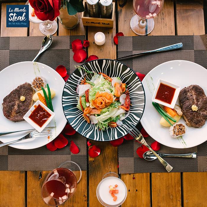 Le Monde Steak_Qua tang phu nu
