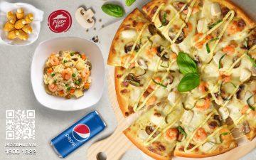 Thực đơn Pizza Hut AEON MALL Hải Phòng Lê Chân