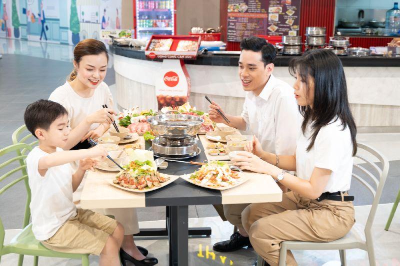 Bữa ăn gia đình AEON MALL Hải Phòng Lê Chân