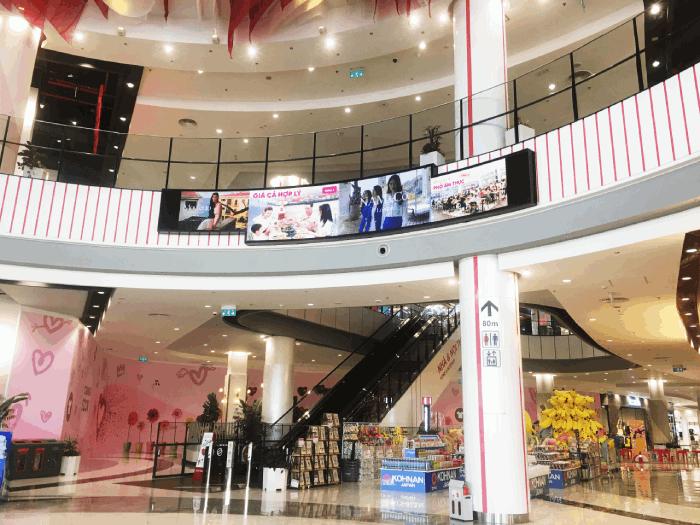 Màn hình LED quảng cáo AEON MALL Hải Phòng Lê Chân